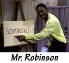 Eddie as Mr. Robinson